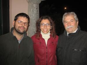 Igor Bonazzoli, Sara Bettinelli, Antonio Bandera